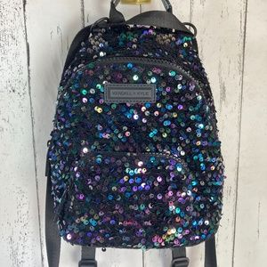 Kendall & Kylie Sequin Mini Backpack